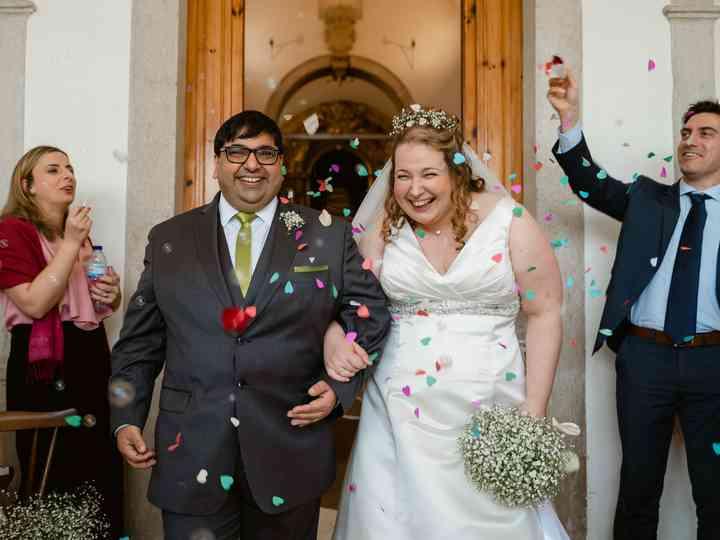 O casamento de Sara e Rahim
