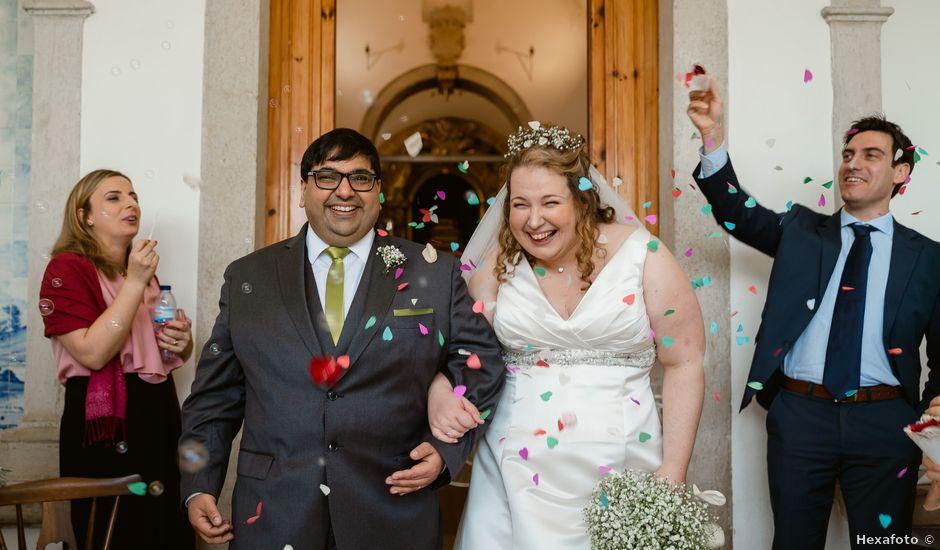 O casamento de Rahim e Sara em Gaeiras, Óbidos