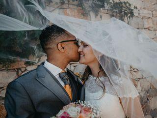 O casamento de Catarina e Naim