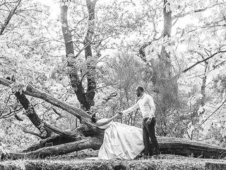 O casamento de Emília e Sérgio