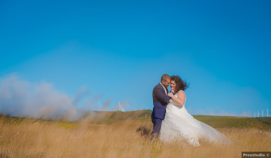 O casamento de Énio e Sandra em Santa Cruz, Madeira