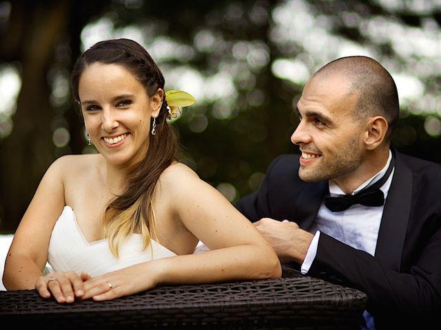 O casamento de Francisca e André