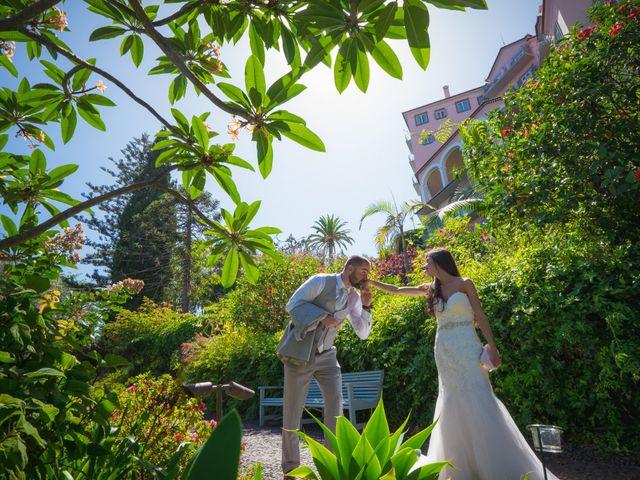 O casamento de Daniel e Débora em Câmara de Lobos, Madeira 89