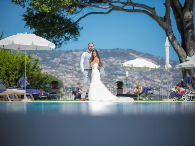 O casamento de Daniel e Débora em Câmara de Lobos, Madeira 90