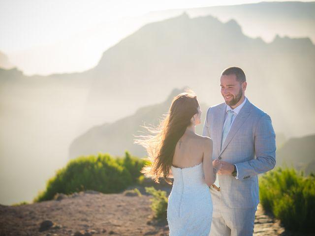O casamento de Daniel e Débora em Câmara de Lobos, Madeira 106