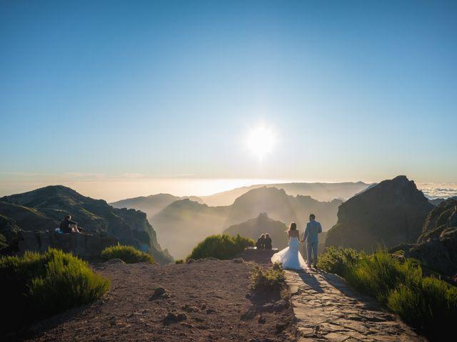 O casamento de Daniel e Débora em Câmara de Lobos, Madeira 108