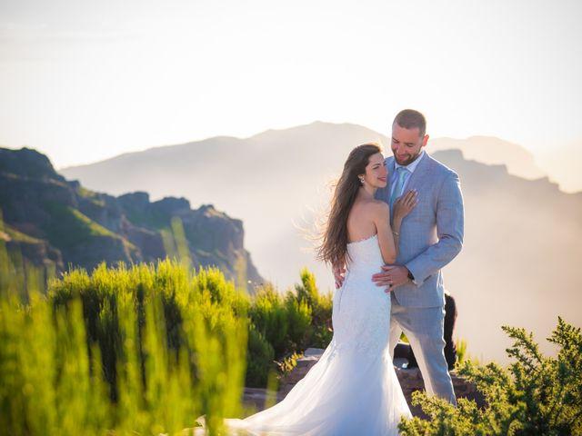 O casamento de Daniel e Débora em Câmara de Lobos, Madeira 109