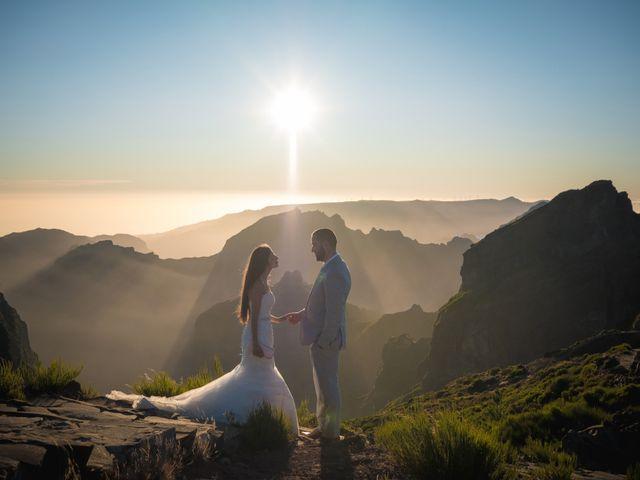 O casamento de Daniel e Débora em Câmara de Lobos, Madeira 110
