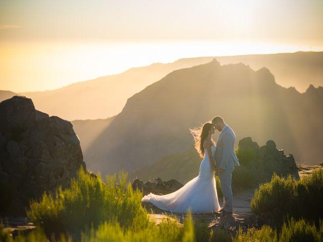 O casamento de Daniel e Débora em Câmara de Lobos, Madeira 113