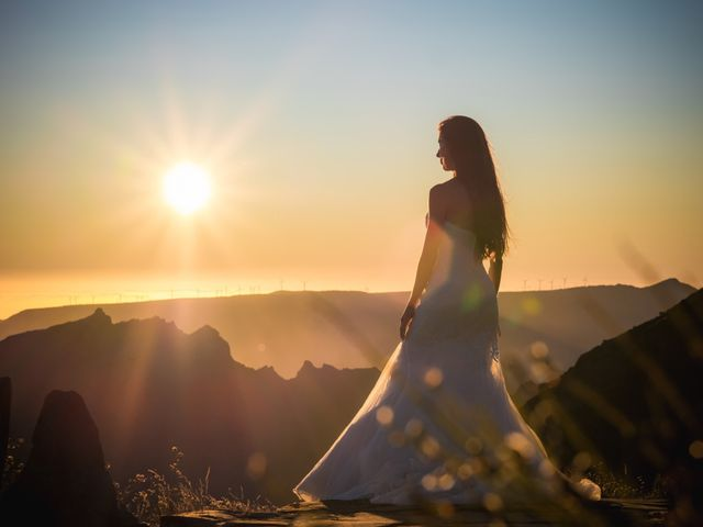 O casamento de Daniel e Débora em Câmara de Lobos, Madeira 114