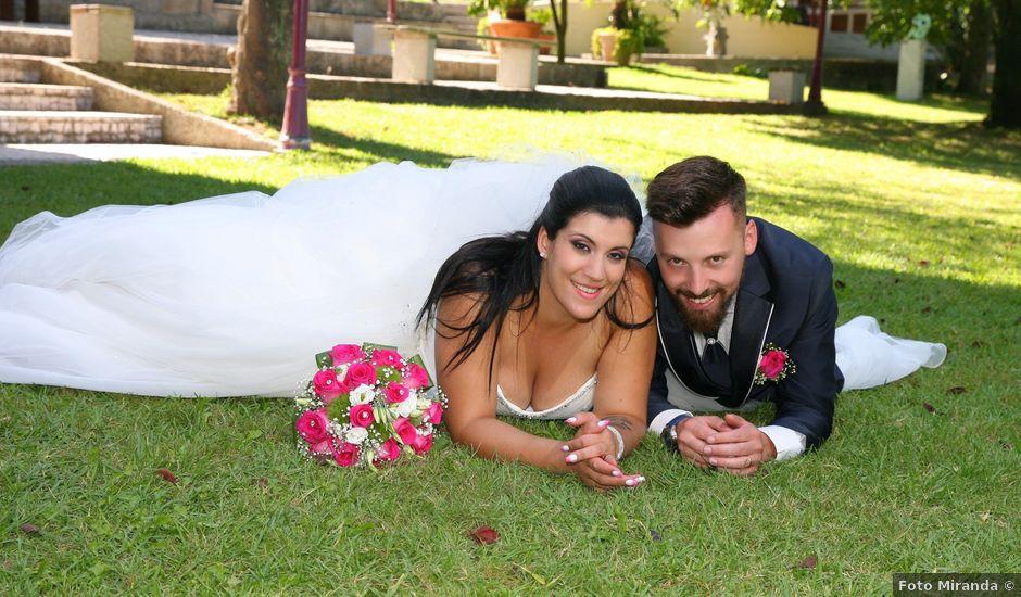 O casamento de Filipe e Daniela em Muro, Trofa