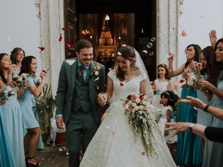 O casamento de Marta e Colin