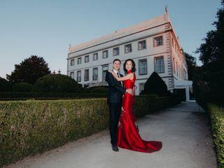 O casamento de Wen e David 1