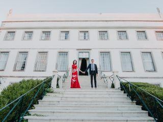 O casamento de Wen e David 2