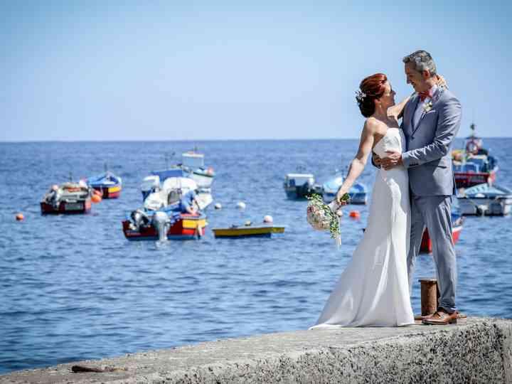 O casamento de Isabel e Milton
