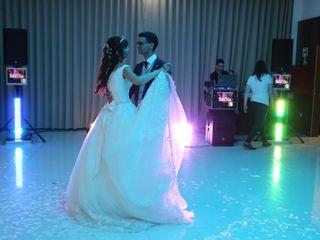 O casamento de Diana e Luís