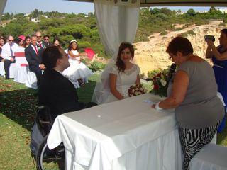 O casamento de Sandra e Rui