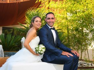 O casamento de Belinda e Hugo