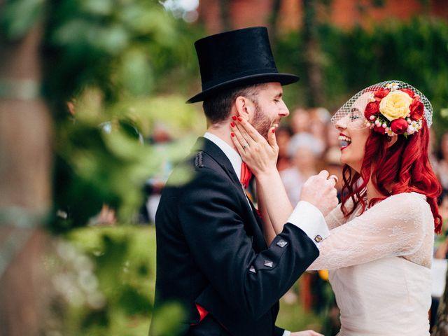 O casamento de Mariana e Stu