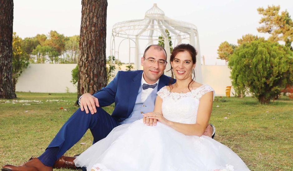 O casamento de Miguel e Teresa em Aroeira, Almada