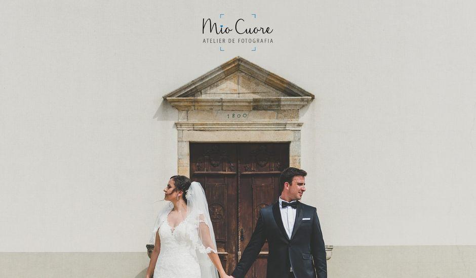 O casamento de Tiago e Sabine em Canedo, Santa Maria da Feira