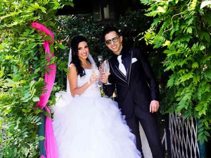 O casamento de Diana e André