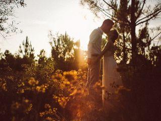 O casamento de Fábia e Brett