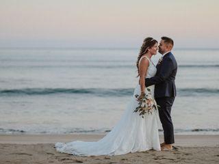 O casamento de Andrea e Hélder