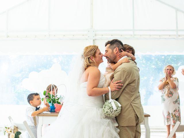 O casamento de Joaquim e Sónia em Santo António da Charneca, Barreiro 1