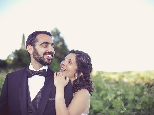 O casamento de Célia e Milson