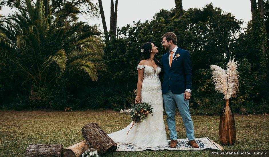 O casamento de Liam e Marcella em Colares, Sintra