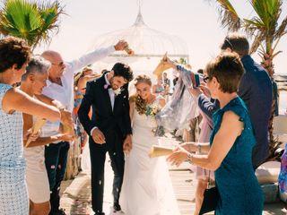 O casamento de Valé e Sam