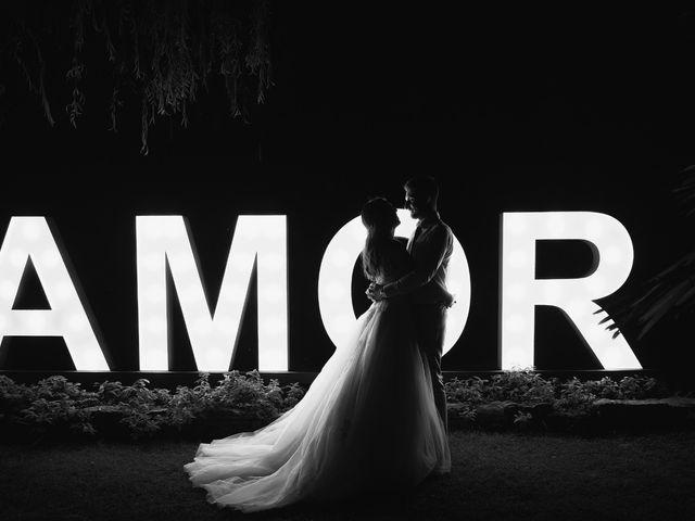O casamento de Joana e Anthony