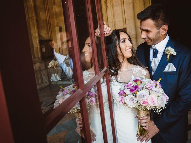 O casamento de Miguel e Vanessa em Almargem do Bispo, Sintra 1