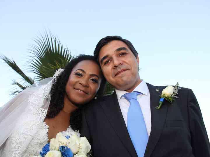 O casamento de Margareth e João