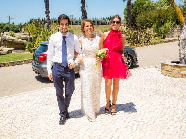 O casamento de Carlos e Carla em Abóboda, Cascais 9