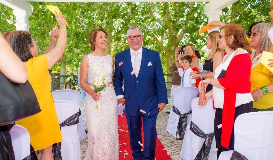 O casamento de Carlos e Carla em Abóboda, Cascais