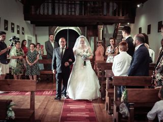O casamento de Anais e Oestreicher 1