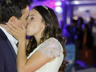 O casamento de Hélia e David