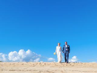 O casamento de Anne e Ruben