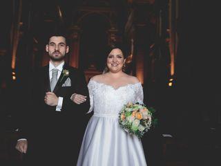 O casamento de Sarah e Nelson