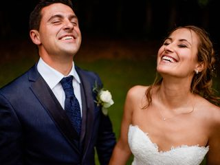 O casamento de Cláudia e Luís