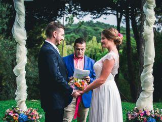 O casamento de Uliana e Luis