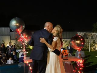 O casamento de Luísa e David