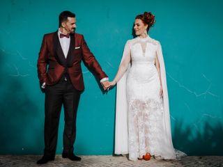 O casamento de Márcia e David