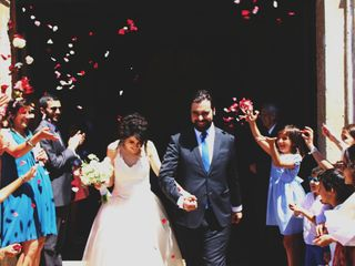 O casamento de Luísa e Hugo