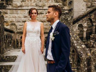 O casamento de Megan e Kristian