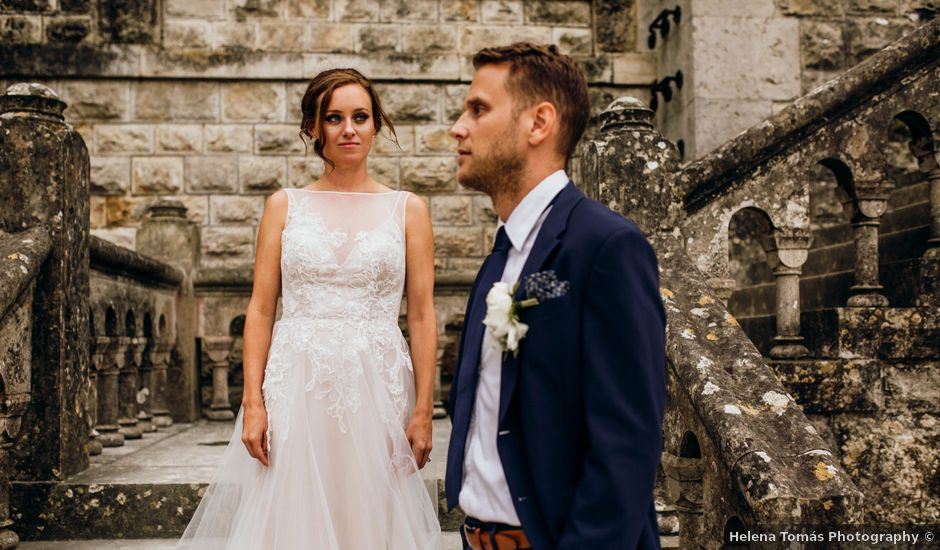 O casamento de Kristian e Megan em Estoril, Cascais