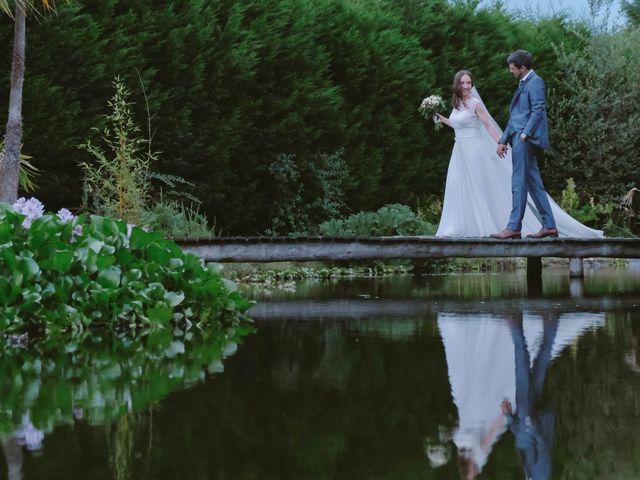 O casamento de Francisca e Pedro