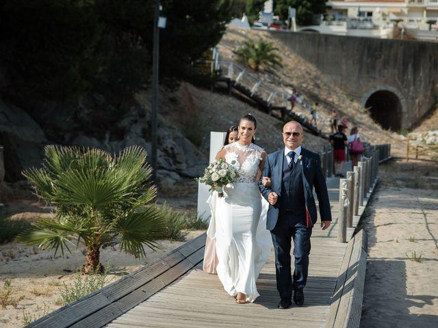 O casamento de Tiago  e Sara em Sesimbra, Sesimbra 22
